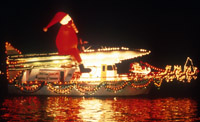 Newport Harbor Christmas Boat Parade of Lights