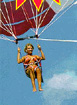 Parasailing at the Beach, outdoor sports