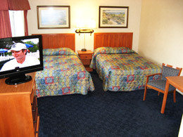 2 double beds extra long nonsmoking
